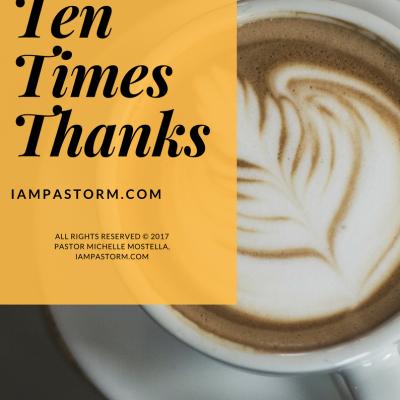 Ten Times Thanks